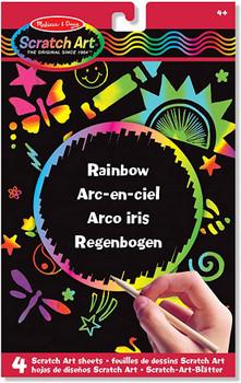 Melissa & Doug Scratch Art Activity Kit: Rainbow