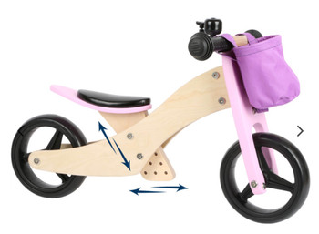 Trainer bike 2in 1