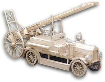Matchbuilder Fire Engine - Matchstick Modelling Kit
