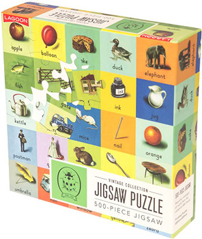 Vintage collection 500 piece jigsaw