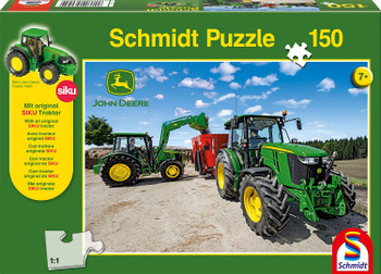 Tractor 150 piece jigsaw Schmidt