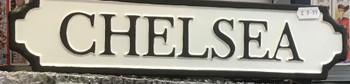 Chelsea tin sign