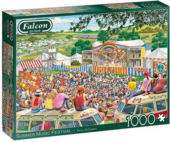 Falcon 1000 piece jigsaw summer festival