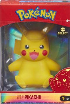 "Pokemon Pikachu 4"" Kanto Vinyl Figures."