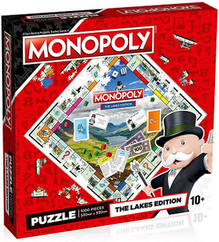 Monopoly the lakes edition jigsaw