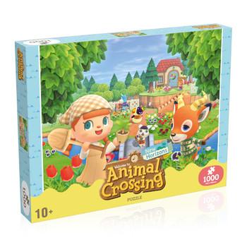 Animal crossing puzzle 1000 piece