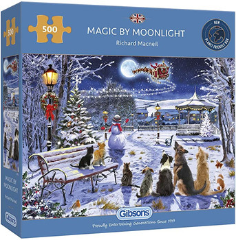 Gibson 500 magic by moonlight jigsaw