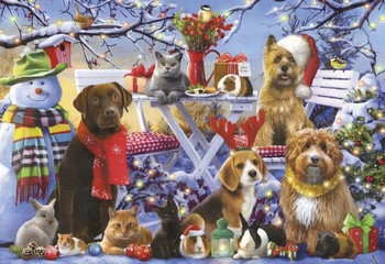Gibson festive friends 150 piece jigsaw