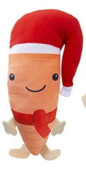 Carrot plush toy