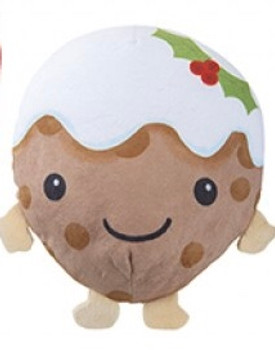 Christmas pudding soft toy