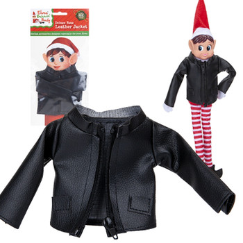 Elf leather jacket