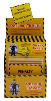 Parking tickets fake