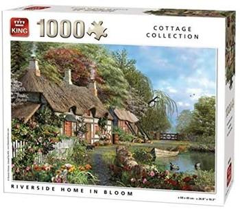 King riverside home 1000 piece jigsaw