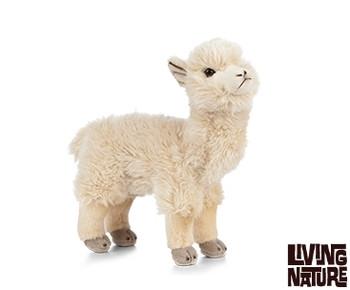 Living nature alpaca soft toy