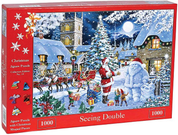 House of puzzles seeing double 1000 piece jigsaw