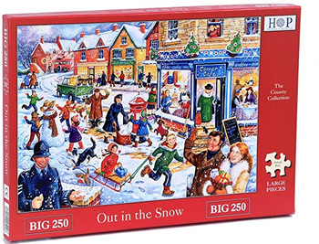 House of Puzzles out in The snow 250 big