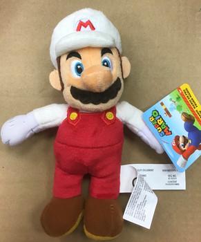 Fire Mario plush toy