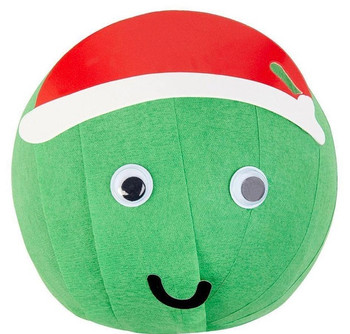 Wonder ball with sprout face