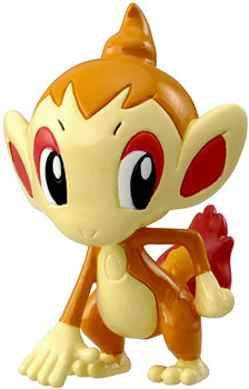 Pokemon figure chimchar ouisticram panflam