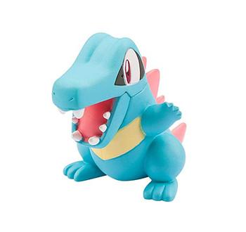 Totodile Pokemon figure in case