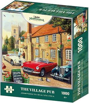 Nostalgia 1000 piece jigsaw The village pub