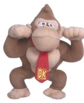 "Mario 24"" Kong soft toy"