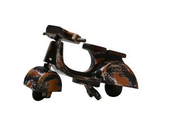 Vespa wooden bike black