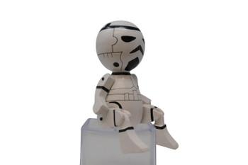 Wooden storm trooper