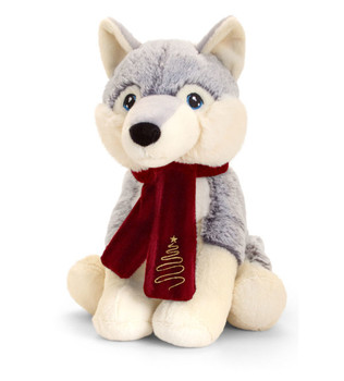 Keel soft toy Husky