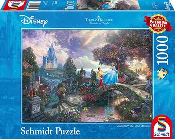 Schmidt Disney Cinderella 1000 piece Thomas kinkade jigsaw