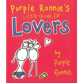 LOVERS - PURPLE RONNIES LITTLE BOOK