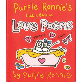 LOVE POEMS - PURPLE RON. LITTLE BOOK