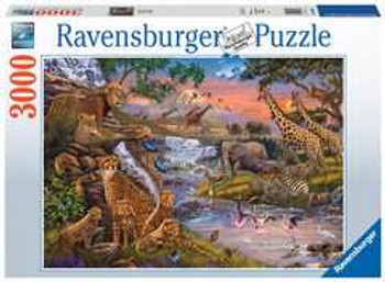 3000 piece Ravensburger animal kingdom
