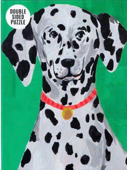 Double sided jigsaw 100 piece Dalmatian