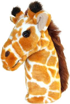 Carpet giraffe hand puppet