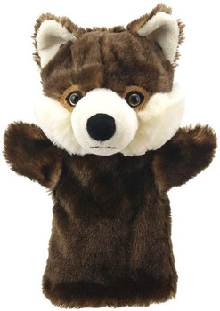Hand puppet wolf. Puppet company