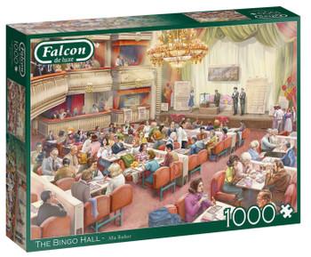Falcon the bingo hall 1000 piece jigsaw