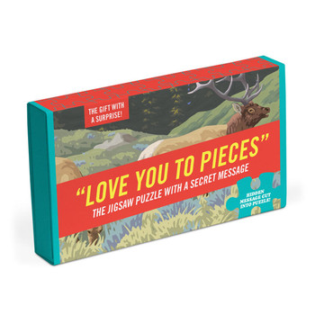 Love you to pieces jigsaw 64 pieces