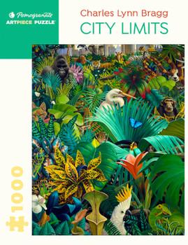 Pomegranate 1000 piece jigsaw City Limit by Charles Lynn Bragg
