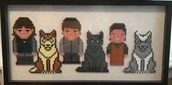 Game of thrones Hama beads homemade picture