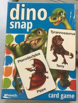 Dino snap cards