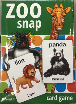 Zoo snap card game