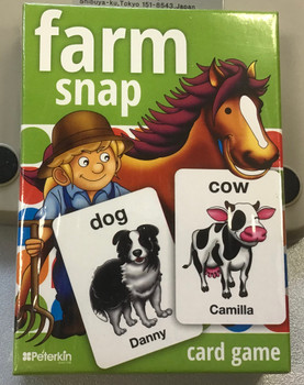 Farm snap Card game