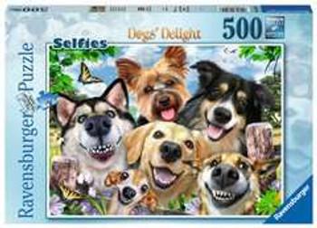 Ravensburger 500 piece  jigsaw dogs delight