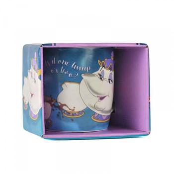 Beauty and the beast mug boxed