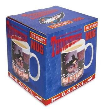 Thunderbirds mug in a box