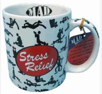 Mad mugs stress relief mug in box