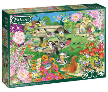 Falcon summer birds 500 piece jigsaw