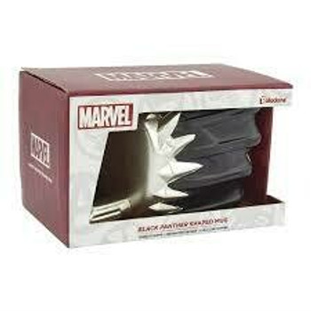 Marvel black panther shaped mug