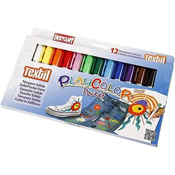 Textile playcolour pens
